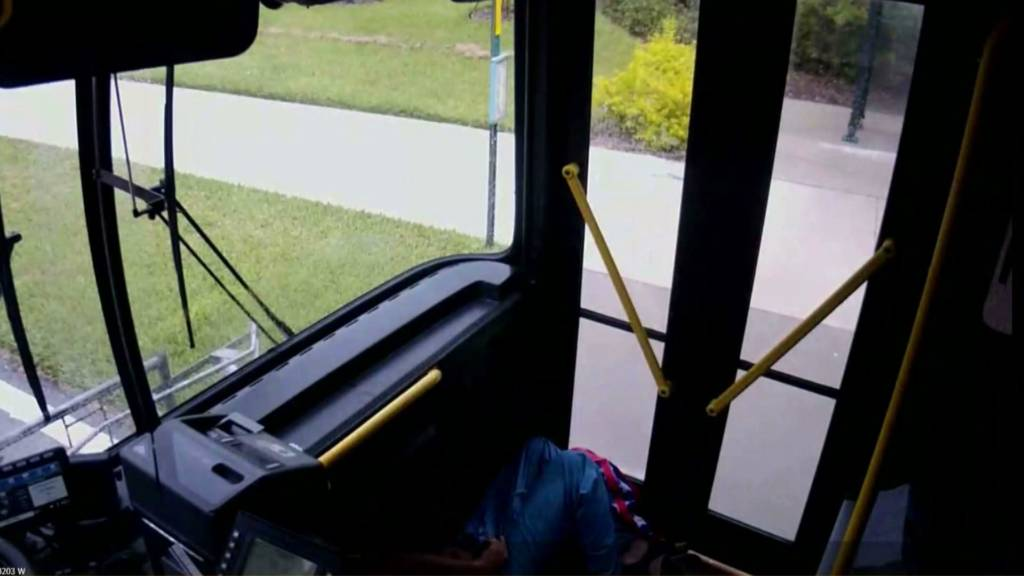 Black Bus Driver Knocks Out Racist White Passenger After He Drops N-Bomb & Spits On Him