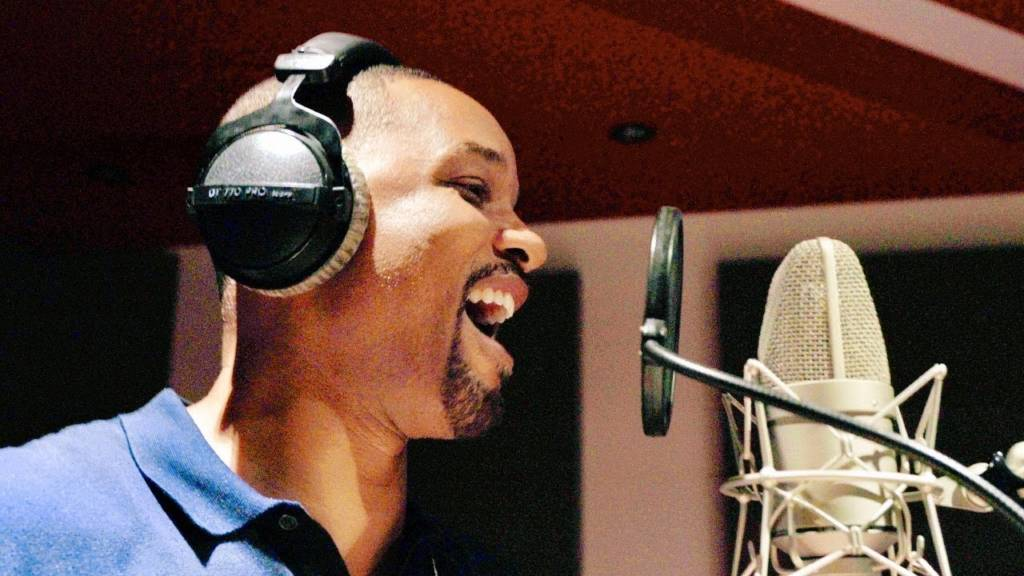 The Fresh Prince (Will Smith) Drops New Bars In The Studio