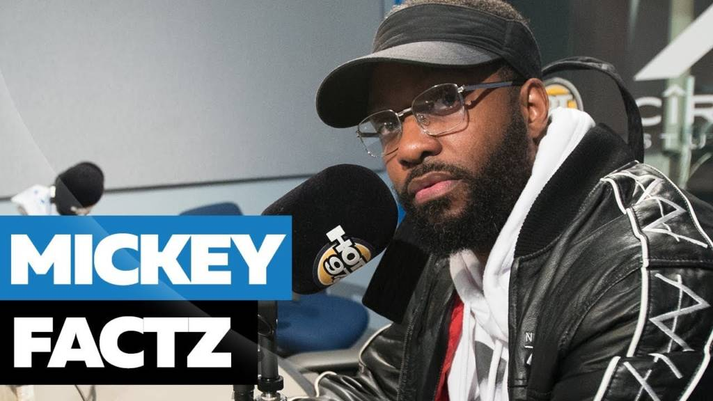 Mickey Factz Kicks Freestyle On Hot 97 w/Funkmaster Flex