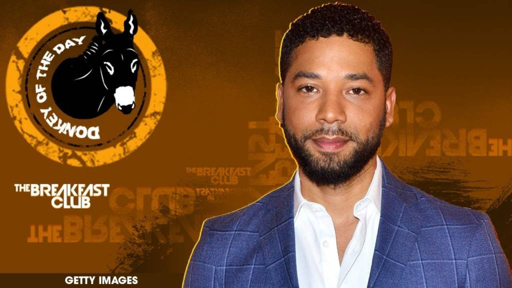 Jussie Smollett Awarded Donkey Of The Day For Filing False Police Report