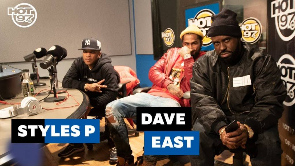 Styles P & Dave East Kick Freestyles On Hot 97 w/Funkmaster Flex [Part 1] (@TheRealStylesP @DaveEast)