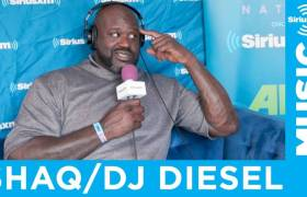 Shaq Talks How Much He Gets Paid To DJ Festivals, What Music He Is Listening To, + More On SiriusXM