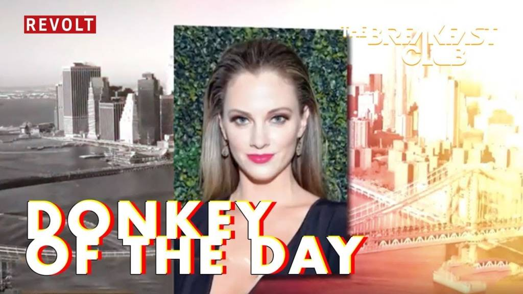 Charlamagne Tha God Farts On Nicole Arbour's Version Of Childish Gambino's 'This Is America' On Today's Donkey Of The Day