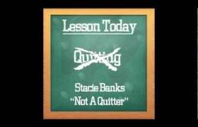 Not A Quitter track by Stacie Banks & Billy Da Kid