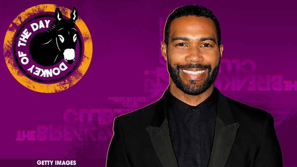 Omari Hardwick Awarded Donkey Of The Day For Kissing Beyoncé Twice At NAACP Image Awards