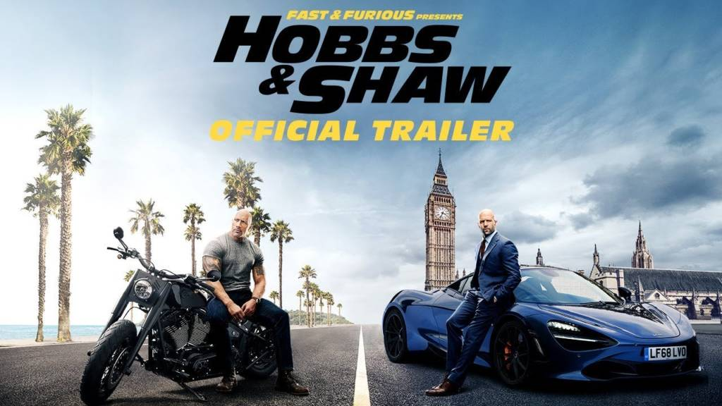 1st Trailer For 'Fast & Furious Presents: Hobbs & Shaw' Movie Starring The Rock, Jason Statham, & Idris Elba