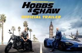 1st Trailer For 'Fast & Furious Presents: Hobbs & Shaw' Movie Starring The Rock, Jason Statham, & Idris Elba