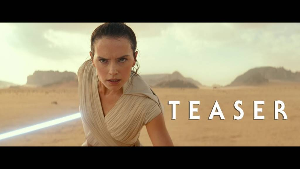 Teaser Trailer For 'Star Wars, Episode IX: The Rise Of Skywalker' Movie