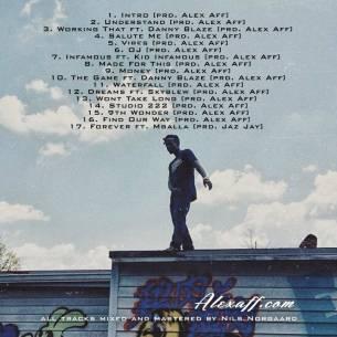 Peep The Artwork & Tracklisting For Alex Aff's (@ImAlexAffMayne) Upcoming Album 'Forever'  Peep The Artwork & Tracklisting For Alex Aff's (@ImAlexAffMayne) Upcoming Album 'Forever'