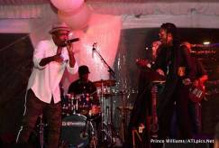 """from left to right: Anthony David and Algebra Blessett performing """"4EverMore"""""""