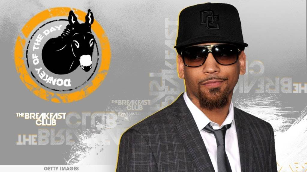 J. Holiday Awarded Donkey Of The Day For Instagram Meltdown
