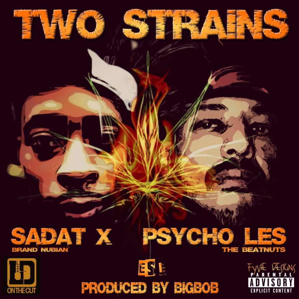 MP3: BigBob feat. Psycho Les, Sadat X, & LDontheCut - Two Strains