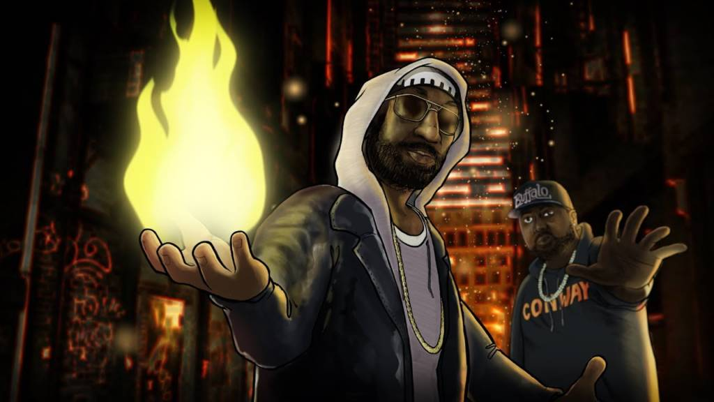 Video: Nine feat. Conway The Machine - Belafonte (@Nine212 @Snowgoons @WhoIsConway)