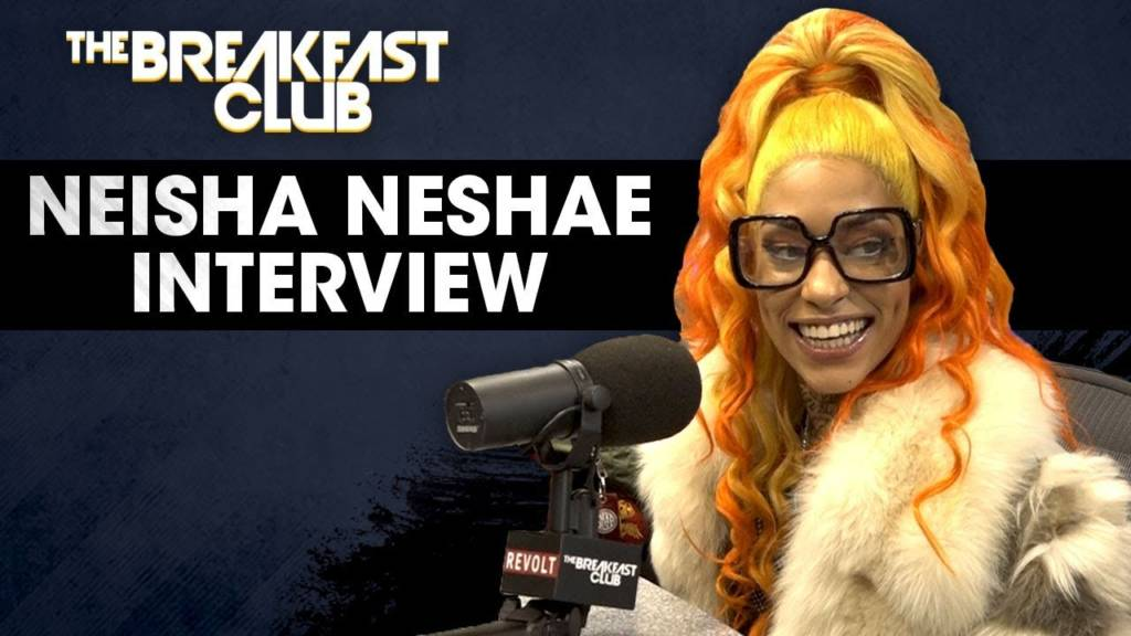 Neisha Neshae Talks Detroit, R&B Trap, Being Shaped By Rough Childhood, & More w/The Breakfast Club