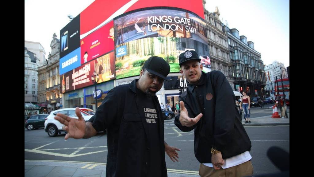 Video: Parallax feat. Rakaa Iriscience (of Dilated Peoples) - Round & Round (@Parallax_UK @TheRealRakaa)