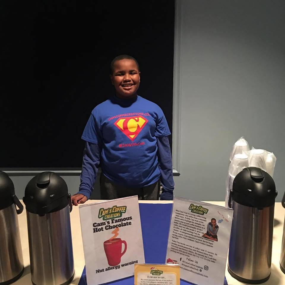 9-Year Old Opens Coffee Shop That Employs Special Needs People