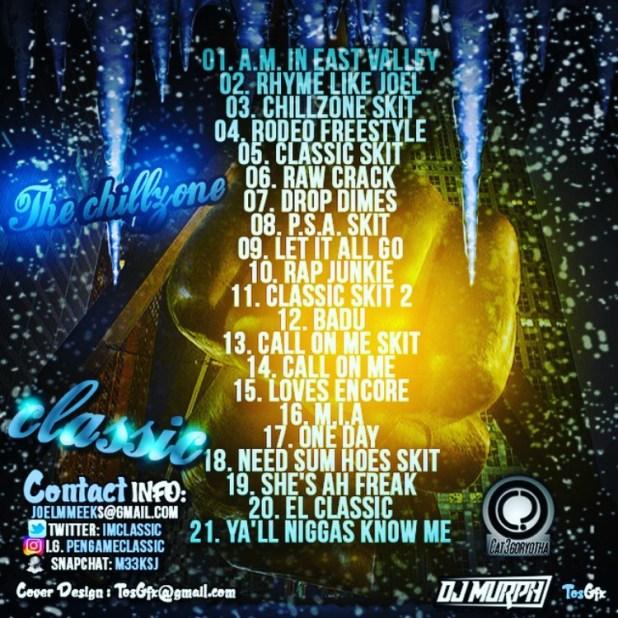 Stream Classic (@ImClassic) & DJ Murph's (@IAmDJMurph) New Collabo Mixtape 'The Chillzone'