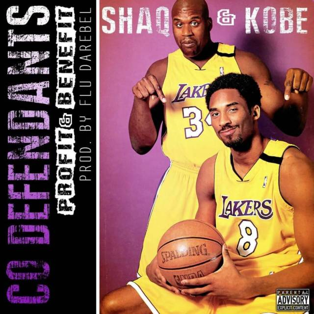 CO Defendants - Shaq & Kobe [Track Artwork]