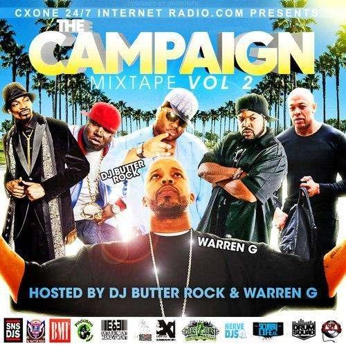 @DJButterRock » The Campaign Mixtape, Vol. 2 [Hosted By @Regulator]