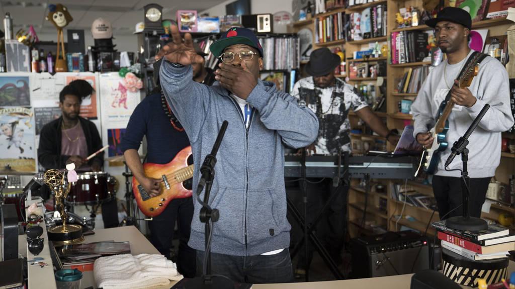 O.C. Puts On @ NPR's Tiny Desk Concert (@TheRealOCizzle @LordFinesseDITC @NPRMusic)