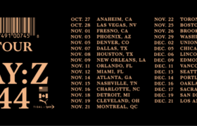 Dates for Jay-Z's '4:44' Tour [Event Artwork]