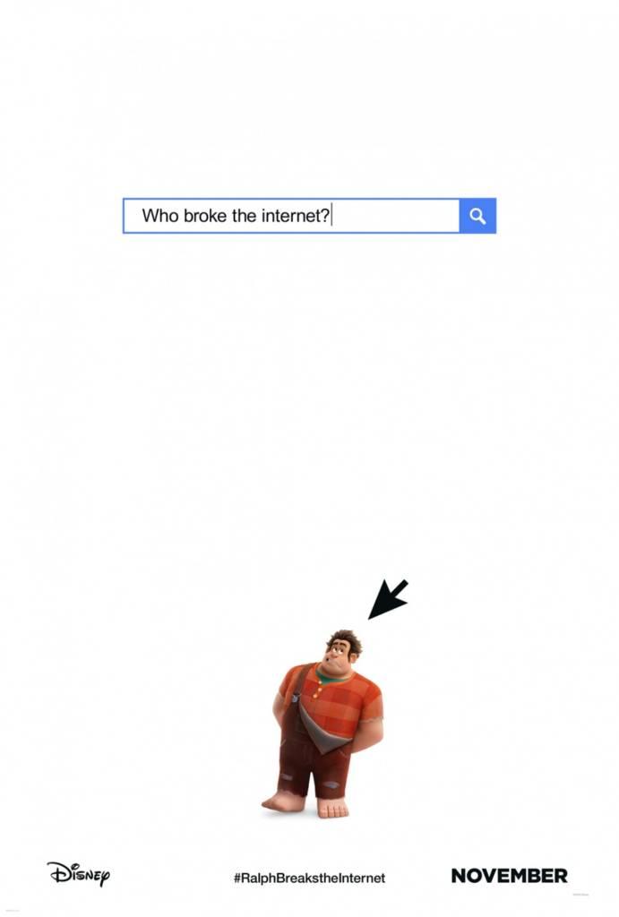 1st Trailer For '#RalphBreaksTheInternet: Wreck-It Ralph 2' Movie