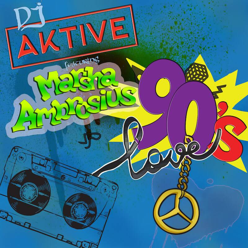 MP3: @DJAktive feat. @MarshaAmbrosius - 90's Love