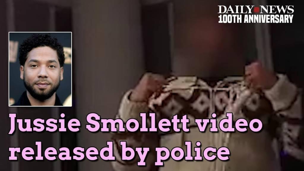 Chicago PD Makes Jussie Smollett Footage Public