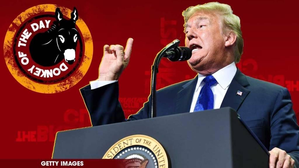 Donald Trump Awarded Donkey Of The Day For Mocking Christine Blasey Ford After Brett Kavanaugh Testimony