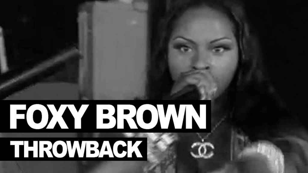 Foxy Brown Murdered This Freestyle On 'The Tim Westwood Show' Back In 1996...