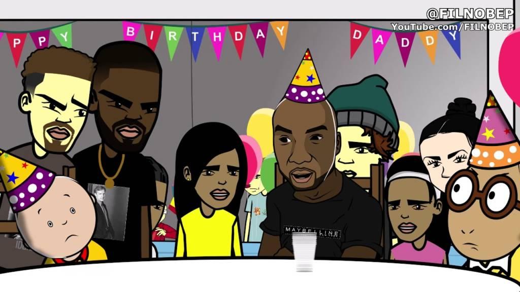 Surviving R Kelly's Birthday Party [Cartoon Parody]
