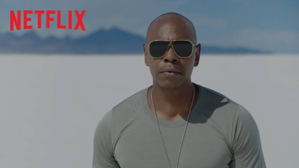 1st Trailer For Netflix Stand-Up Comedy Special 'Dave Chappelle: Sticks & Stones'