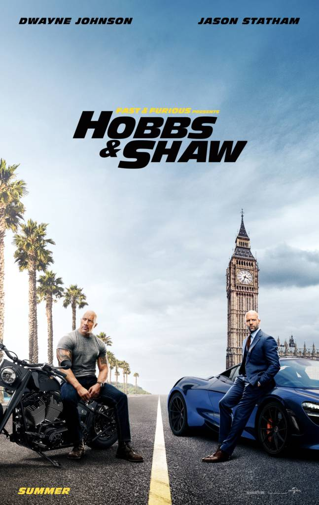 2nd Trailer For 'Fast & Furious Presents: Hobbs & Shaw' Movie Starring The Rock, Jason Statham, & Idris Elba