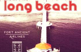 Fort Ancient Records - Fort Ancient Airlines: Long Beach [Beat Tape Artwork]