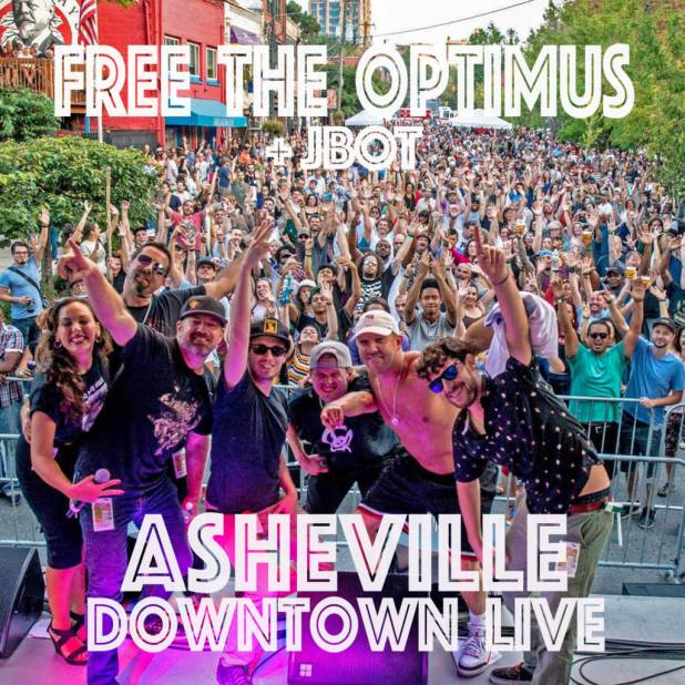 Free The Optimus Drops 'Asheville Downtown Live' Album & 'Carolina Proud' Video (@FreeTheOptimus)