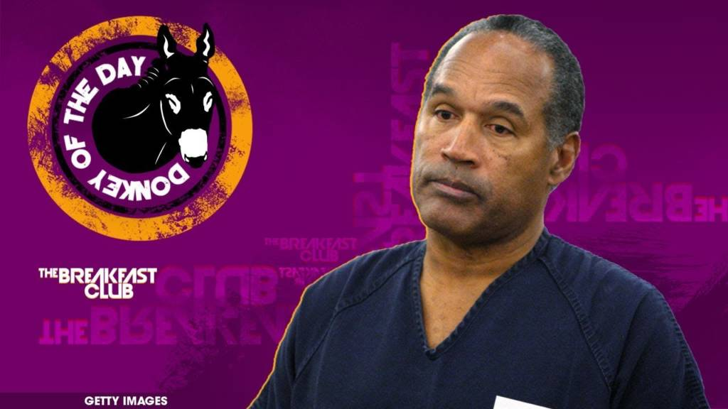 OJ Simpson Awarded Donkey Of The Day For Saying Colin Kaepernick 'Made A Mistake' In First Interview Since Imprisonment