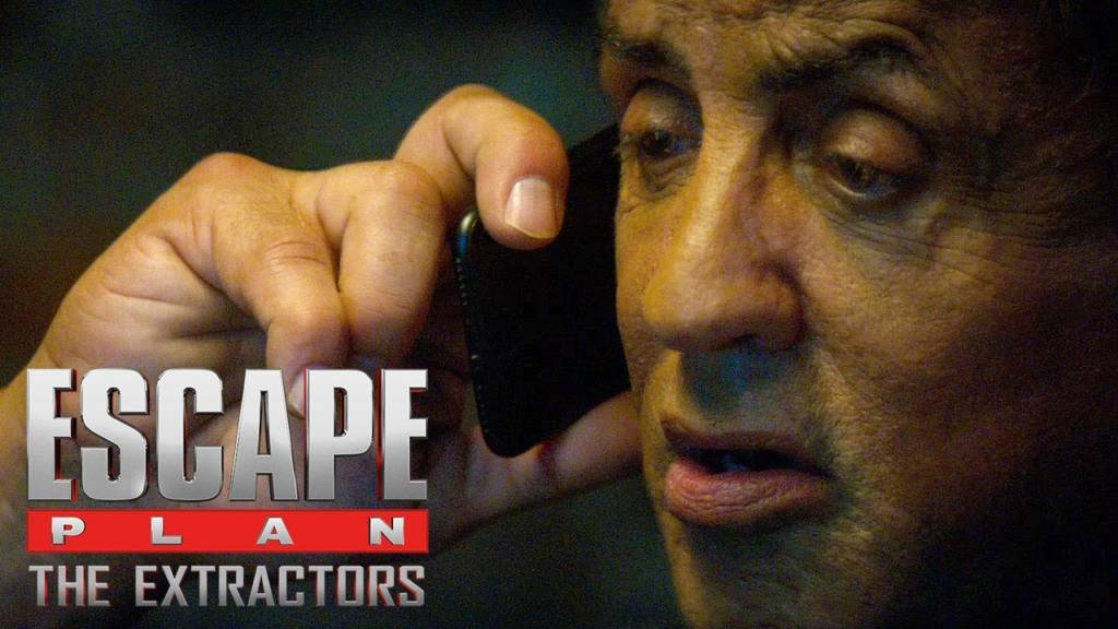Teaser Trailer For 'Escape Plan 3: The Extractors' Movie Starring Sylvester Stallone, Dave Bautista, & 50 Cent