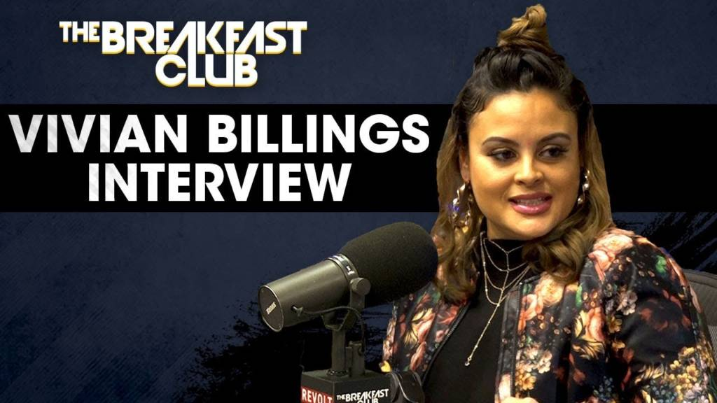 Vivian Billings (@GossipViv) Speaks On Her New Book & More w/The Breakfast Club