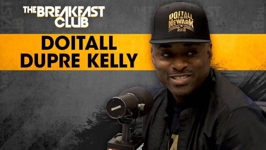 Doitall Dupré Kelly On Jumping Into Politics After Hip-Hop & His 'Do It All' Attitude w/The Breakfast Club (@Doitalldu)