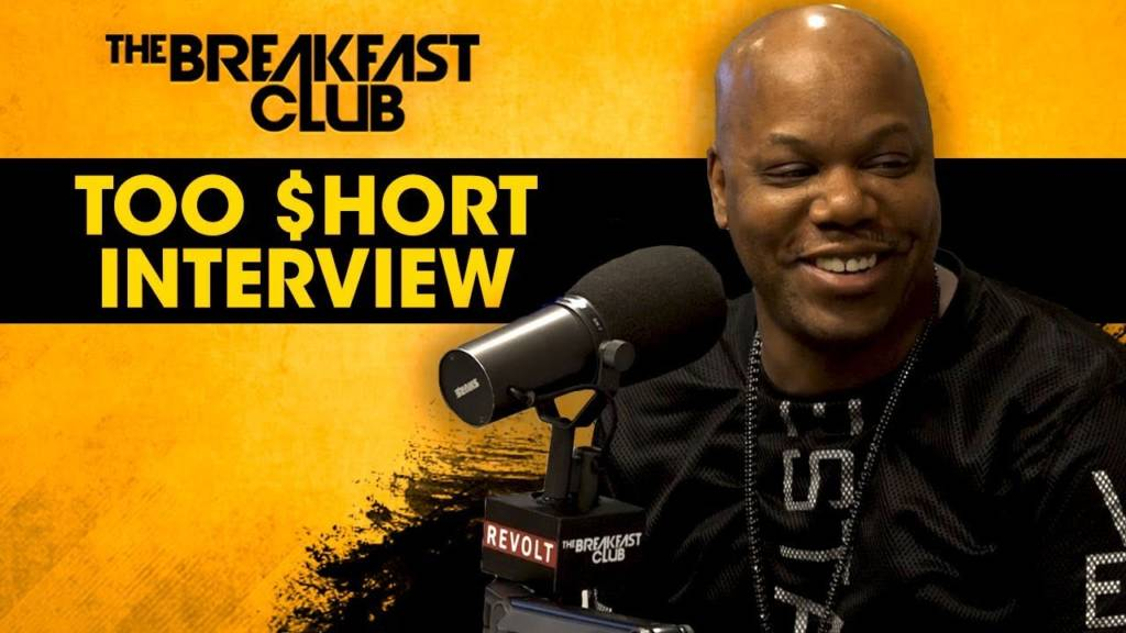 Too $hort On New Album 'The Pimp Tape', Being TMZ Bait, & More w/The Breakfast Club (@TooShort)