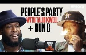 Bun B (of UGK) On 'People's Party With Talib Kweli'