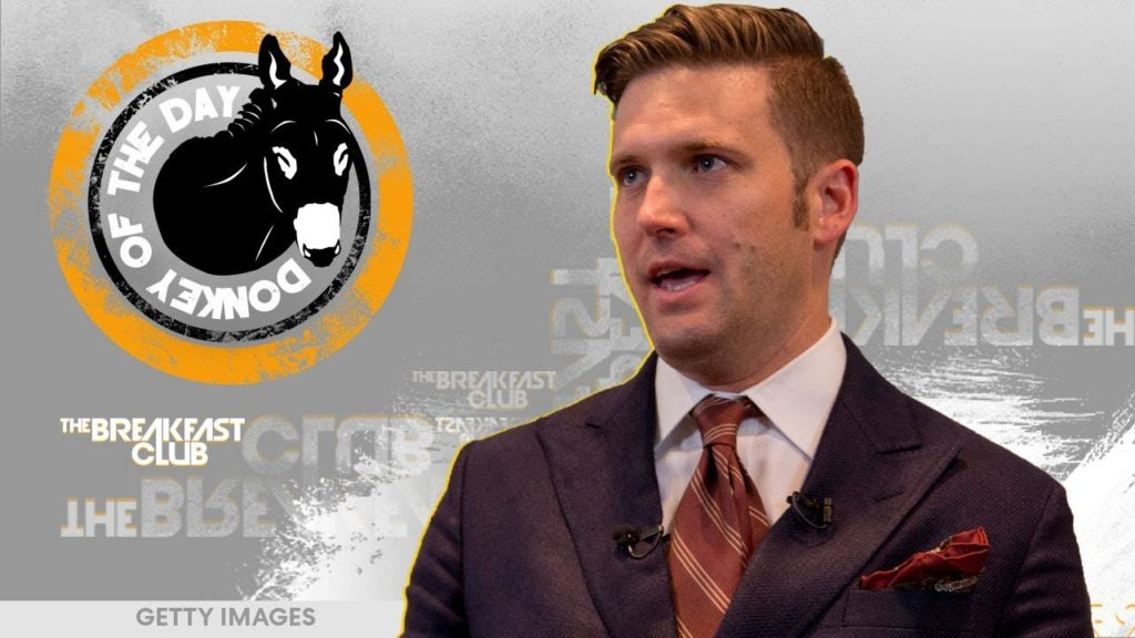 Richard Spencer Awarded Donkey Of The Day For Revealing What Everybody Already Knew About Him
