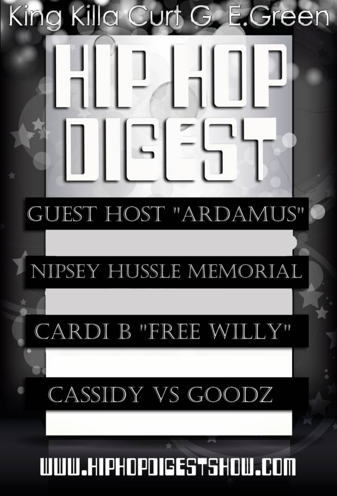 The Hip-Hop Digest Show feat. Ardamus - The Show Must Go On