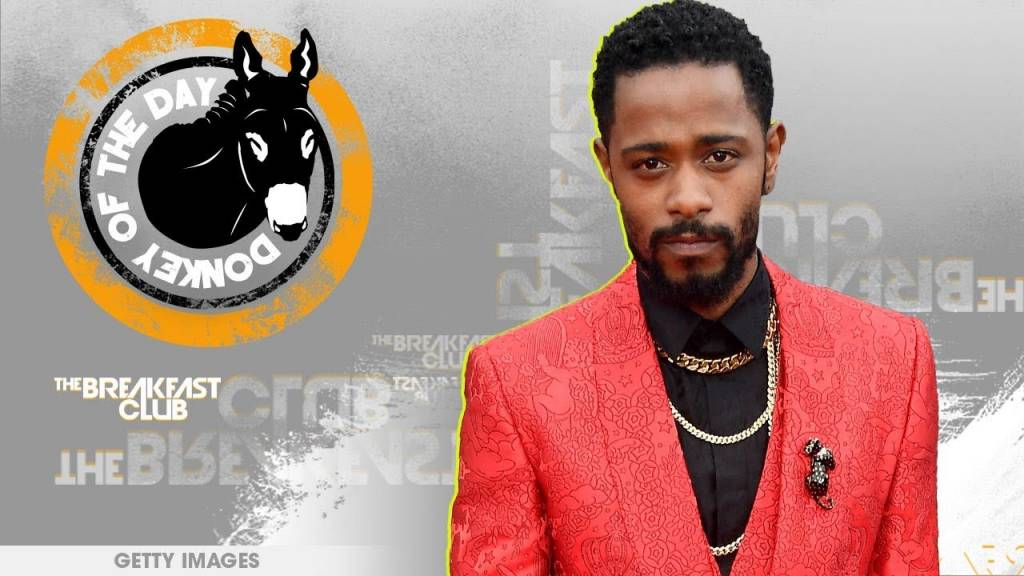 Lakeith Stanfield Awarded Donkey Of The Day For Posting Offensive Freestyle Then Cleaning It Up w/Lame Apology