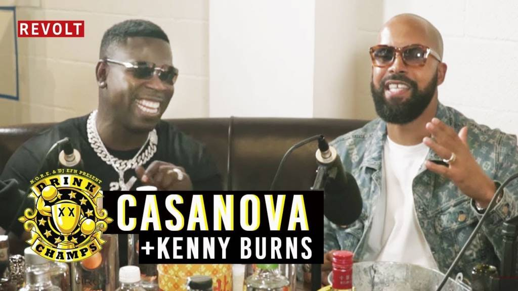 Casanova & Kenny Burns On Drink Champs (@Casanova_2X @KennyBurns @Noreaga @DJEFN @DrinkChamps @RevoltTV)