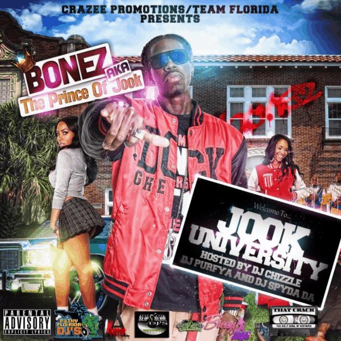 Bonez (@Bonez2Live) » Jook University (Hosted By @DJChizzle, @DaBoiDJSpyda, & @DJPurfiya) [Mixtape]