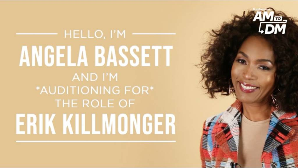 Watch Angela Bassett Audition For The Role Of Erik Killmonger