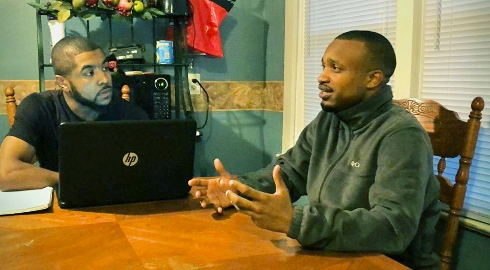 Coach Peake Links Up w/Carlos Smith For His Podcast 'Cross The Line' (@Peake864 @GistDreamVisions)