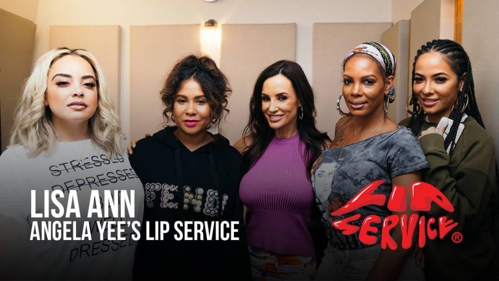 Lisa Ann On Angela Yee's 'Lip Service'