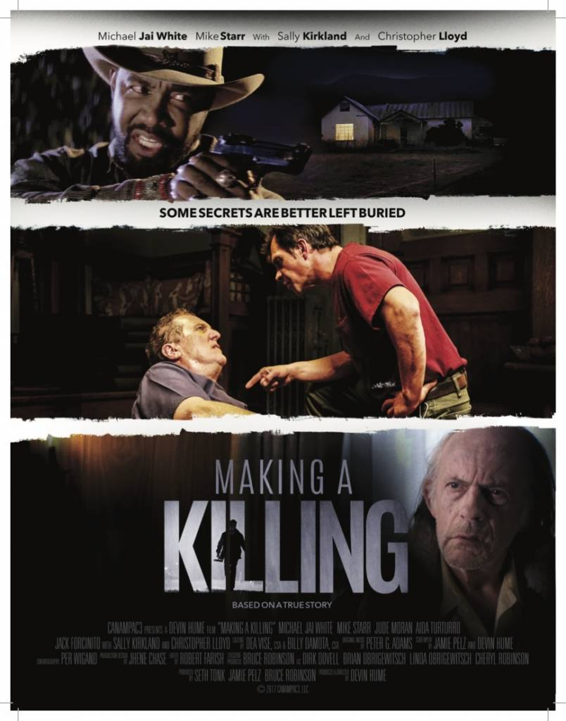1st trailer for making a killing movie starring michael jai white